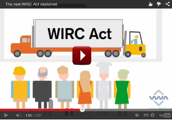 Workplace Injury Rehabilitation and Compensation Act 2013 (the WIRC Act) Explained